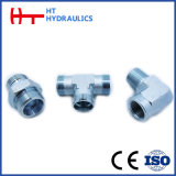 90degree Metric Male Hydraulic Hose Connector Adapter (1C9.1D9.1C9-RN. 1D9-RN)