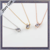 2015 Newest Elegant Cubic Zirconia Setting Fashion Jewelry Necklace