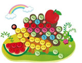 New Designs Buttons Sticker Picture for Kids Toys
