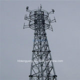 Self Supporting 3 Legs Steel Telecom Lattice Tower