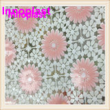 PVC Printed Lace Transparent Tablecloth with Nt Pattern