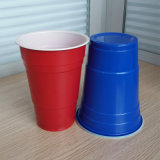 18oz 510ml PS Dual Color Red Solo Beer Pong Cup