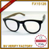 Fx15128 Popular High Quality Round Frame Wood Glasses