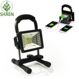 LED Work Light Vaincre 15W 24LED with USB Ports to Charge Mobile Devices Bla