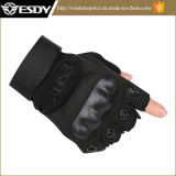 Black Half Finger Esdy Outdoor Gloves Military Gloves