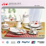 47PCS Square Shape Porcelain Tableware