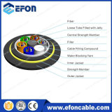 Aerial All Dielectric Non -Metal 12core Singlemode ADSS Fiber Optic Network Cable