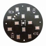 LED Aluminum Black Soldermask PCB Board