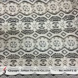 Thick Cord Ivory Scalloped Lace Fabric (M0471-G)