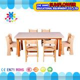 Wooden Children Table for Preschool (XYH-0024)