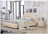 Lizz Furniture Bedroom Modern Leather Bed 8309