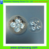 45 Degree Glass Optical LED Lens with High Transmittance