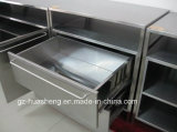 Metal Kitchen Cabinet with Wash Sink (HS-031)
