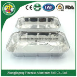 Hot Sale Large Aluminum Foil Food Container for Daily Use (SGS, FDA, BV)