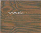 Wood Grain Exterior Wall Decoration Cladding