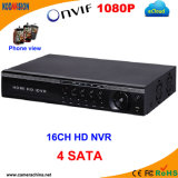 16 Channel NVR with 4 SATA