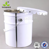 20L 5gallon Floral Lace Lid Paint Bucket Pail for Chemicals