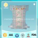 Clothlike Breathable Baby Nappies with PP Colorful Tape