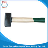 German Type Stoning Hammer Bleached Wooden Handle