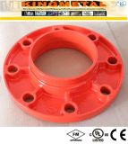 Casting Ductile Iron Grooved Fire Fittings Adaptor Flange