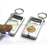 Beer Opener Flashing LED Keyring with Logo Printed (4064)