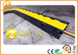 Rubber Cable Ramp / 2 Channel Cable Protector / Flexible Cable Protector