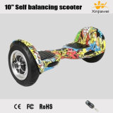 """2017 Big Inflatable Wheels 10"""" Self Balancing Electric Scooter"""