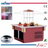 Luxury Commercial Buffet Showcase Salad Bar Refrigerator