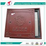 Custom FRP Red Manhole Cover and Frame