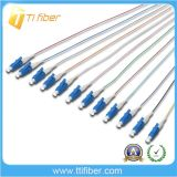 12 Core Colorful mm LC/Upc Fiber Optic Pigtail 0.9mm