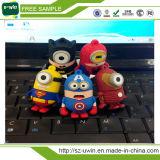 Cheap 2.0 USB Spider Bat Man Superman USB Flash Drive