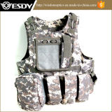 Assault Combat Soft Gear Paintball Tactical Vest for Military