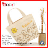 Convenient Lunch Small Tote Canvas Shopping Bag