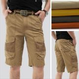 China Factory Cheap OEM Men′s Cotton Twill Outdoor Short Pants