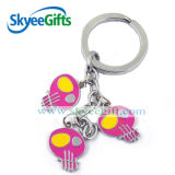 Mini Colorful Gitar Metal Chain for Promotional Gift and Keychain