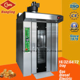 16 Tray Rotay Rack Oven for Bread Ce ISO