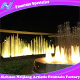 Running Fountain Colorful Lights Music Program Control