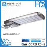 1-10V Dimming 280W LED Street Lamp for Parking Lot IP66