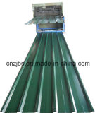Green Color Corrugated Ibr Roofing Sheet Metal