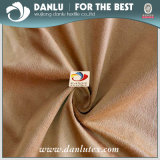 Plain Dyeing Embossed Suede Fabric for Sofauede Fabric