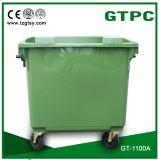 1100L HDPE Trash Can
