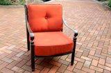 Cast Aluminum Garden Club Deep Cushion Chair Furniture