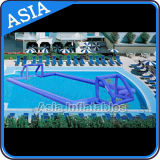 Water Floating Inflatable Football Field for Pool Games