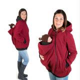 Kangaroo Fleece Maternity Pullover Sweatshirt Hoodie Jacket