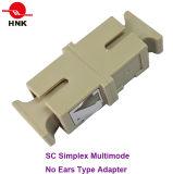 Sc Simplex Multimode No Ears Type Fiber Optic Adapter