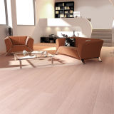 Uniclic Flat White Oak Bamboo Flooring