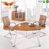 Small Triangle Office Meeting Table, Modern Office Meeting Table