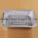 Foil Trays BBQ Aluminum Roasting Disposable Takeaway Container (AC15014)