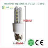 2u 16 Lamp 5W LED Energy-Saving Lamps