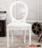 Clear Acrylic Tiffany Chiavari Dining Louis Ghost Chair